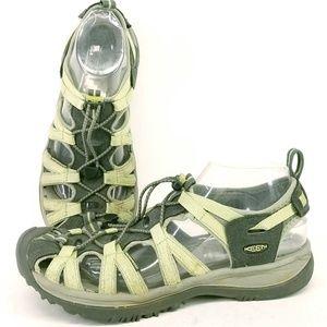 KEEN Whisper Waterproof Hiking Sandal 10  EH23